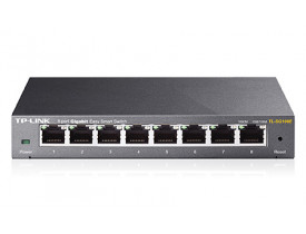 TP-LINK SWITCH 08P TL-SG108E 10/100/1000 EASY SMART
