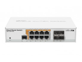 MIKROTIK SMART SWITCH CRS112-8P-4S-IN L5