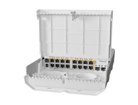 MIKROTIK- CLOUD ROUTER SWITCH CRS318-16P-2S+OUT NETPOWER 16P