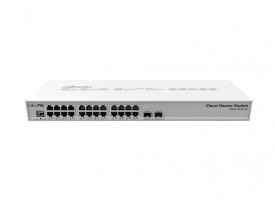 MIKROTIK- CLOUD ROUTER SWITCH CRS 326-24G-2S+RM