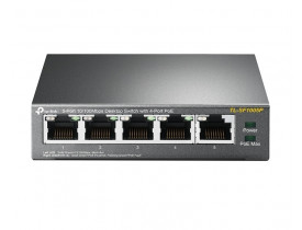 TP-LINK SWITCH 05P TL-SF1005P 10/100 4P POE
