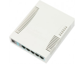 MIKROTIK- ROUTERBOARD RB 260GS (CSS106-1G-4P-1S)