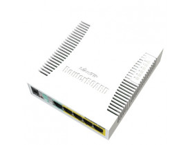 MIKROTIK- ROUTERBOARD RB 260GSP (CSS106-1G-4P-1S 5P GIGA POE)