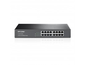 TP-LINK SWITCH 16P TL-SF1016DS RACK-MOUNTABLE