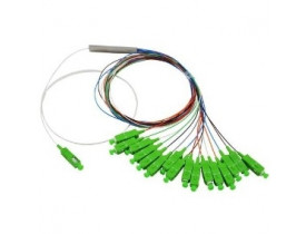 SPLITTER 1*8 0.9MM 1.5M SM SC-APC PLC COLOR
