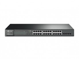 TP-LINK SWITCH 24P T1600G-28PS POE 4SFP 56GB(TL-SG2424P)