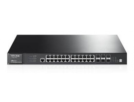 TP-LINK SWITCH 28P T3700G-28TQ JETSTREAM L3 PURE GIGABIT